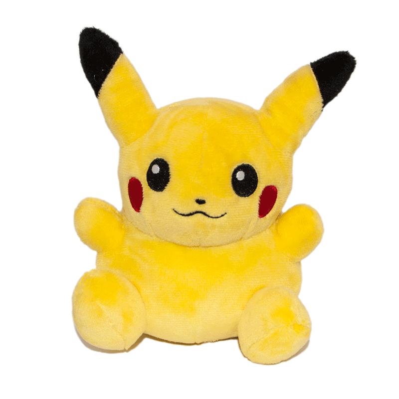 Pikachu plüssjáték elölről