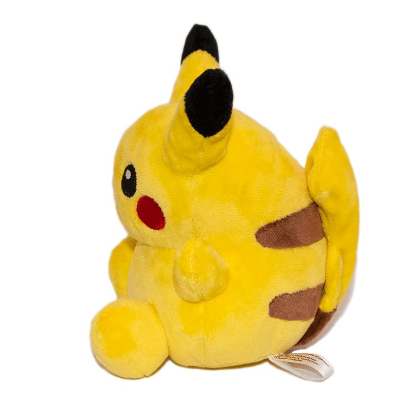 Pikachu plüss oldalról