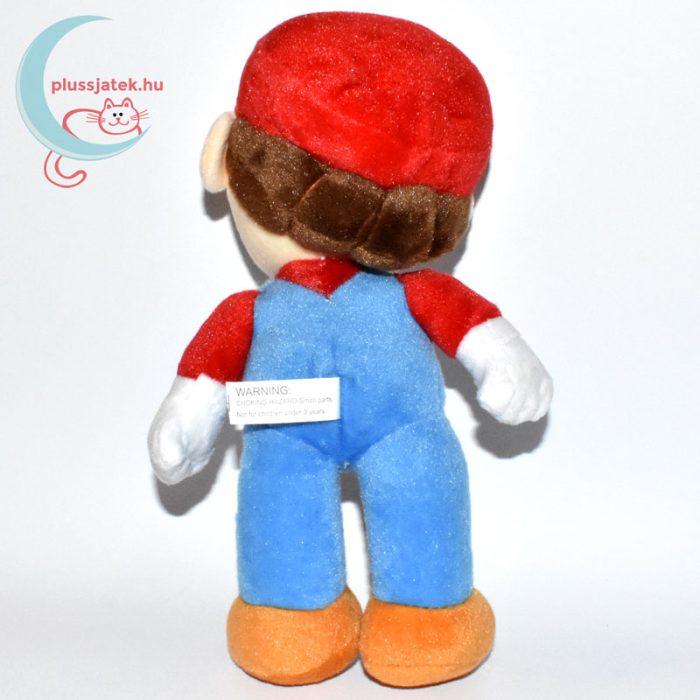Nintendo Super Mario plüss (2) hátulról