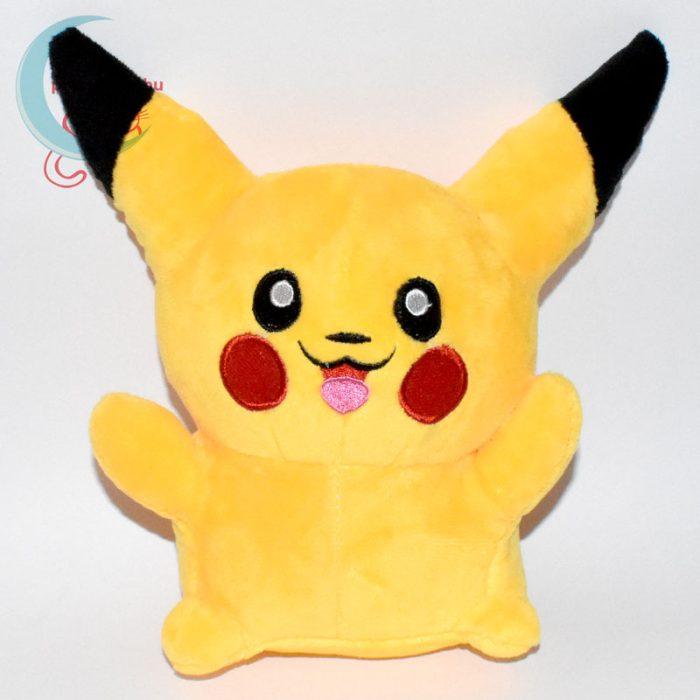 Pikachu nyitott szájú 18 cm-es plüss #2