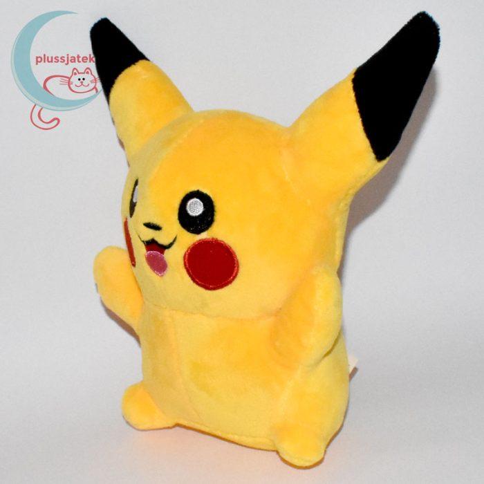 Pikachu nyitott szájú 18 cm-es plüss #2 - balról