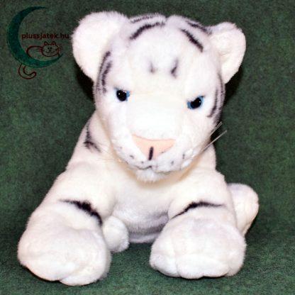 Hatalmas hófehér plüss tigris kölyök