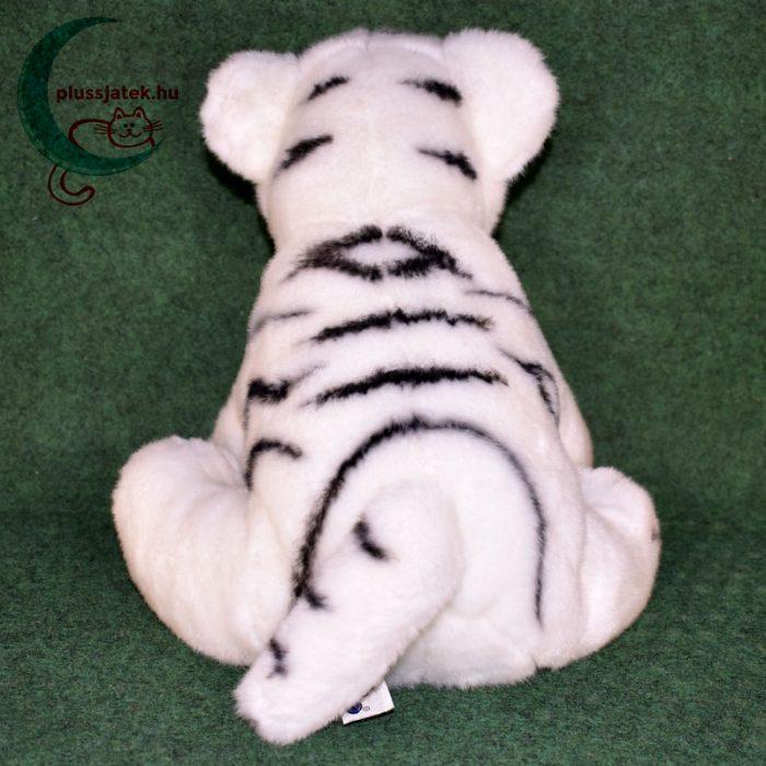 Hatalmas hófehér plüss tigris kölyök hátulról