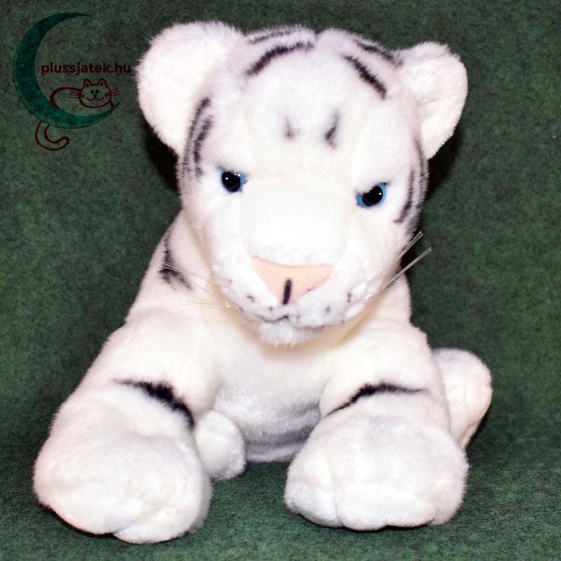 Hatalmas hófehér plüss tigris kölyök ... 364983bf24