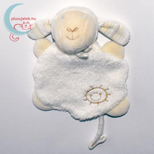 Napocskás plüss bárány rongyikendő szemből