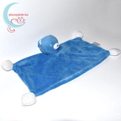 Nestlé kék plüss maci szundikendő jobbról