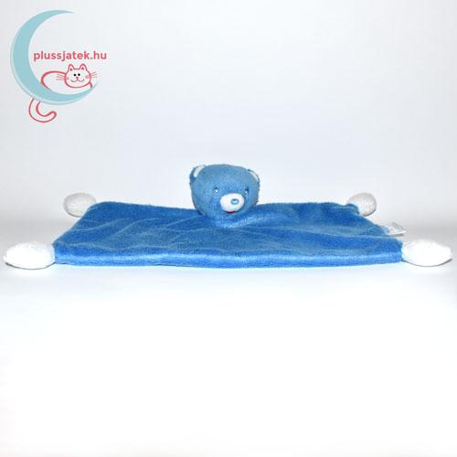 Nestlé kék plüss maci szundikendő szemből