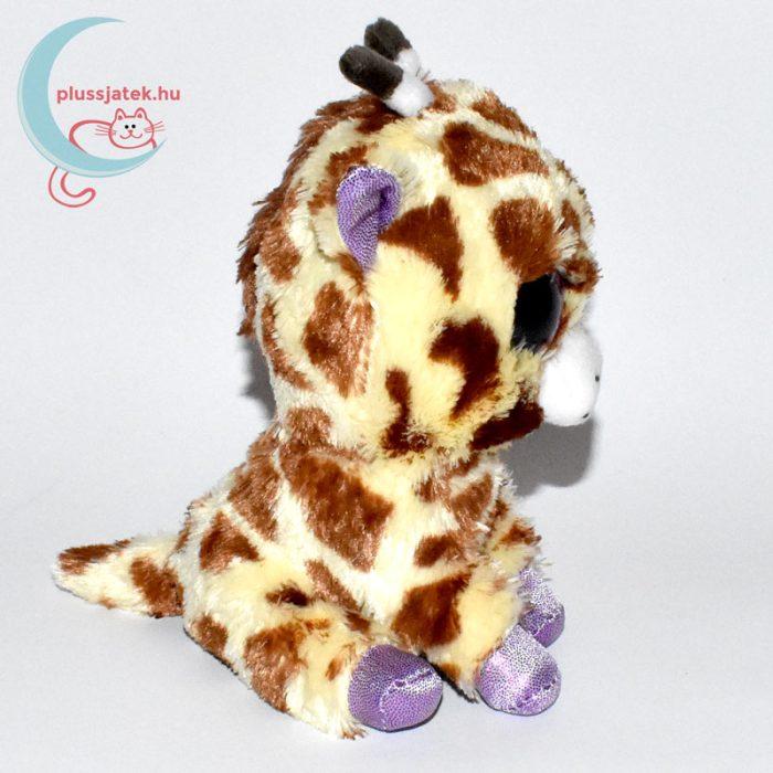 TY nagyszemű plüss zsiráf oldalról