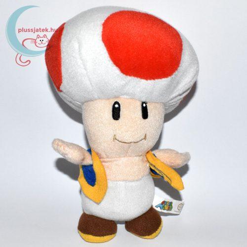 Kék mellényes Toad plüss (Super Mario)