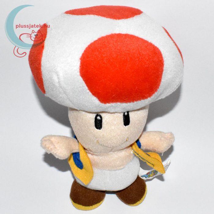 Kék mellényes Toad plüss (Super Mario) felülről