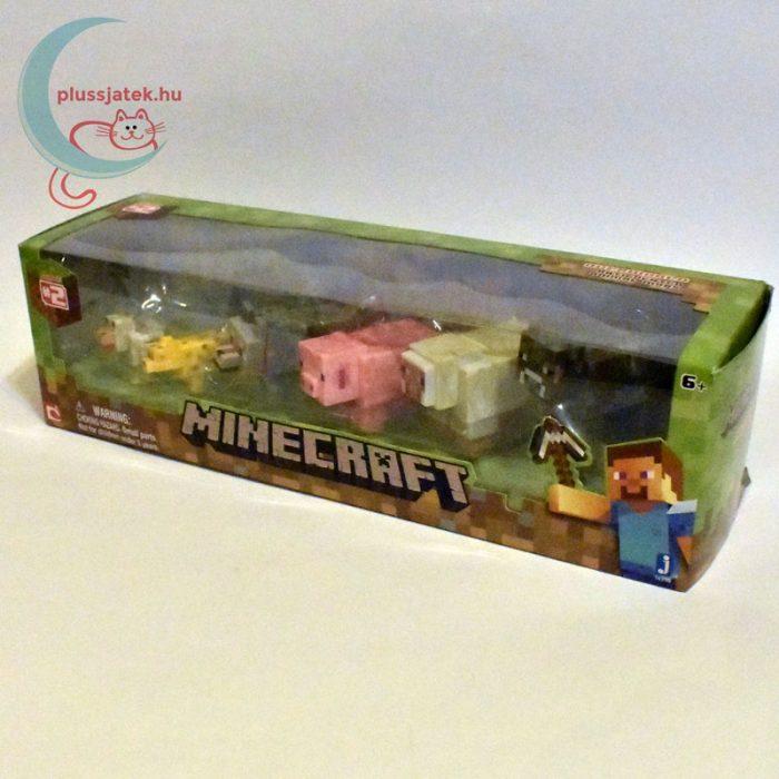 Minecraft - Állatok 6 db-os készlet balról
