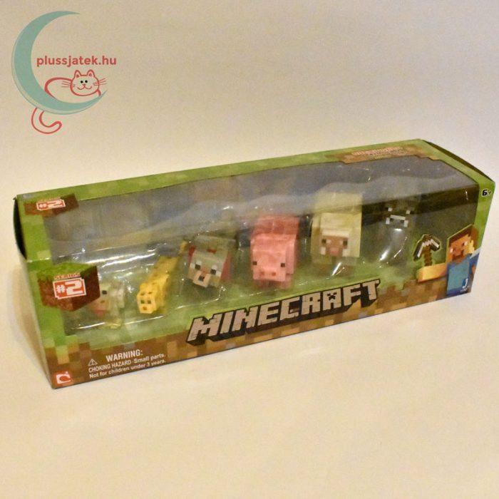 Minecraft - Állatok 6 db-os készlet jobbról