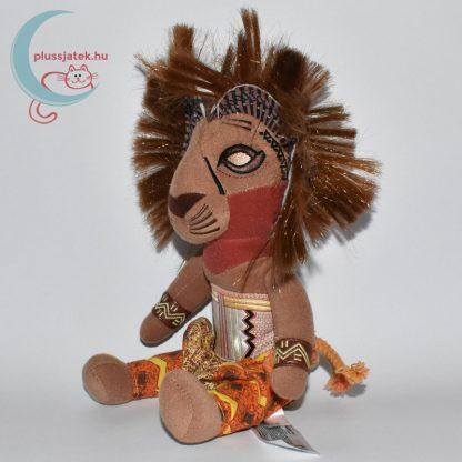 Simba plüss az Oroszlánkirály Broadway musicalből balról