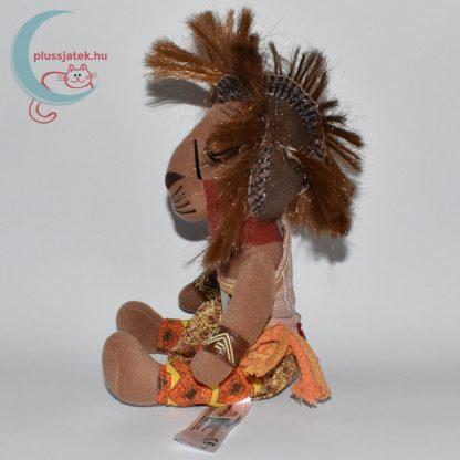 Simba plüss az Oroszlánkirály Broadway musicalből oldalról