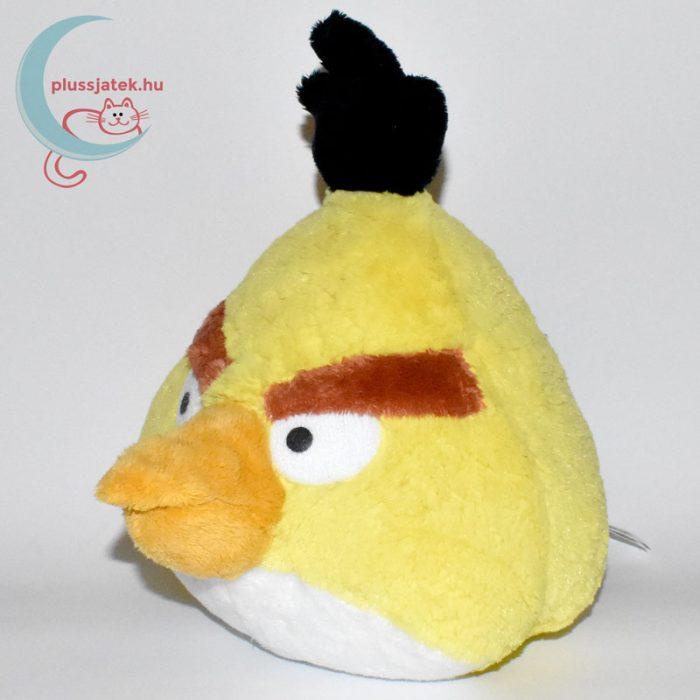 Chuck sárga Angry Birds plüss madár (25 cm) balról