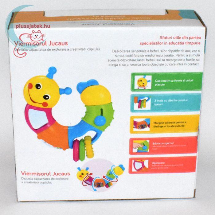 Mappy Toys Hernyócska - interaktív játék hátulról
