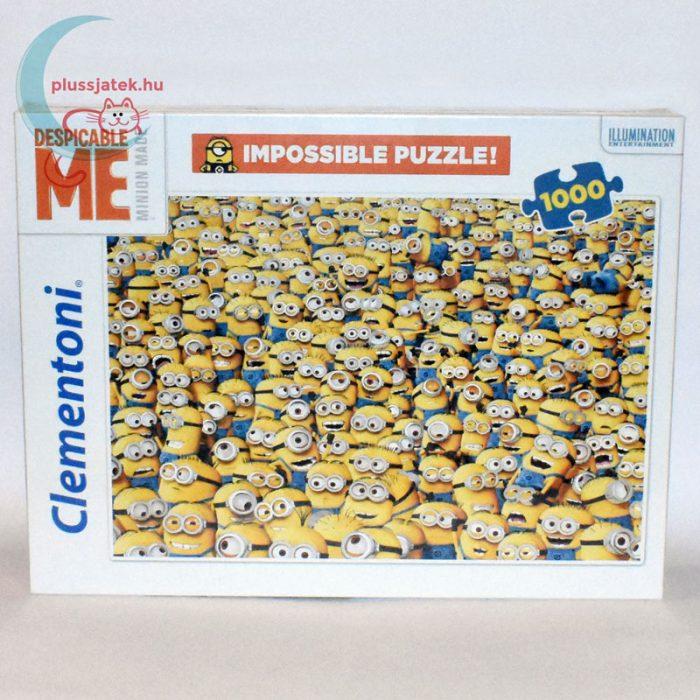 Minyonok - A lehetetlen puzzle (Clementoni 1000 darabos kirakó)