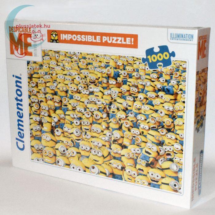 Minyonok - A lehetetlen puzzle (Clementoni 1000 darabos kirakó) balról