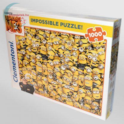 Minyonok, Gru 3 - A lehetetlen puzzle (Clementoni 1000 db-os kirakó) balról