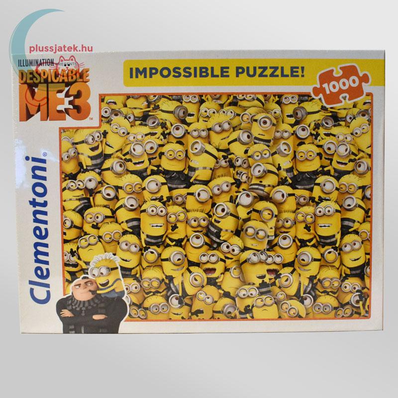 Minyonok, Gru 3 - A lehetetlen puzzle (Clementoni 1000 db-os kirakó)