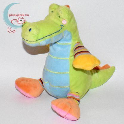 Nicotoy zöld krokodil plüss balról