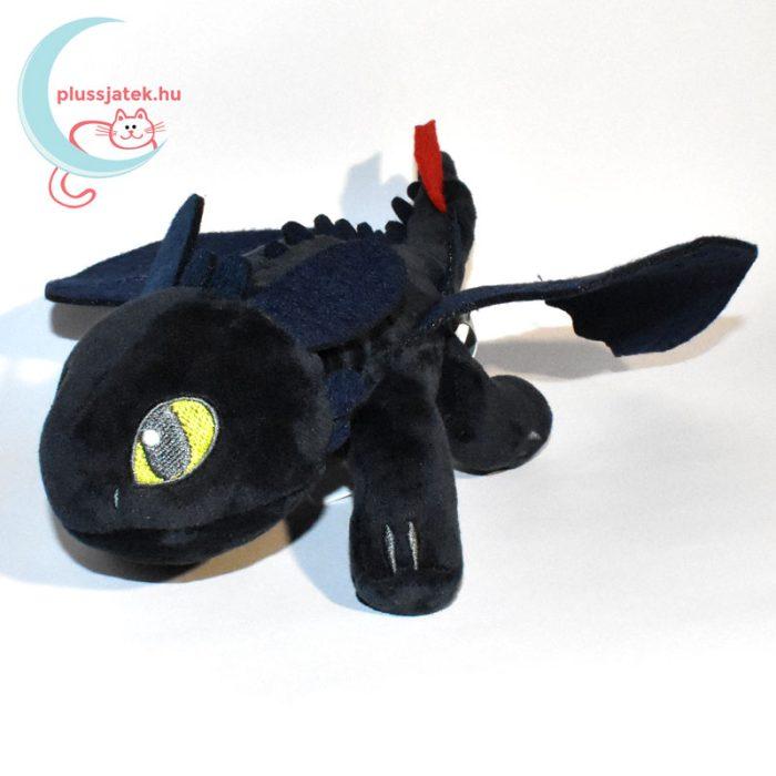 Fogatlan éjfúria plüss - Így neveld a sárkányodat, 28 cm balról