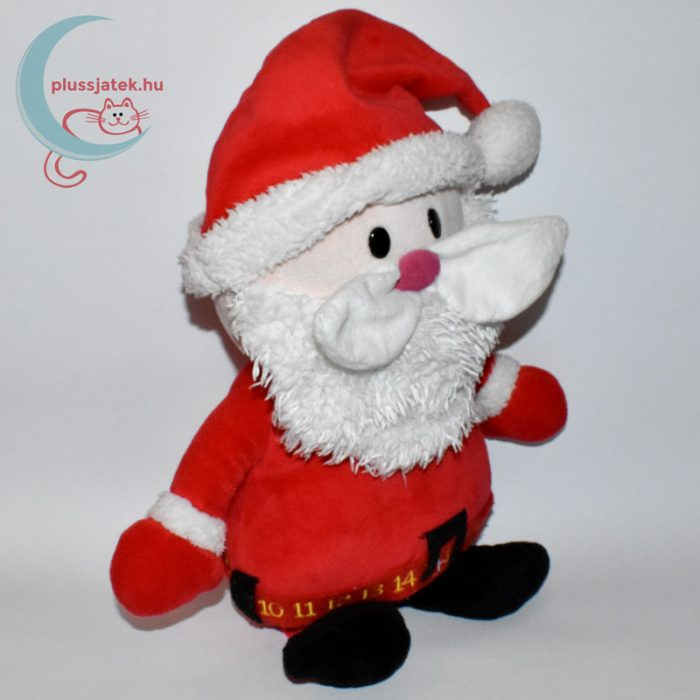 Ölelnivaló plüss télapó (Christmas Cuddles) jobbról