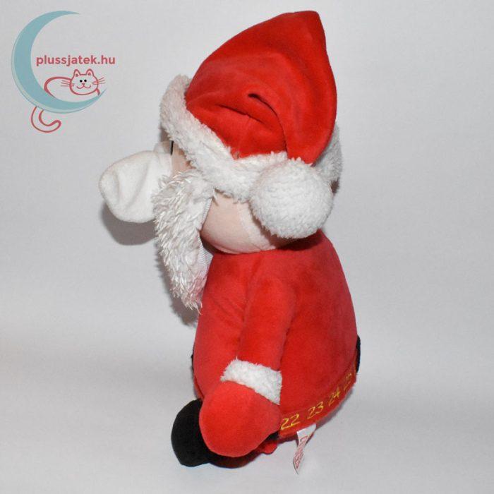 Ölelnivaló plüss télapó (Christmas Cuddles) oldalról