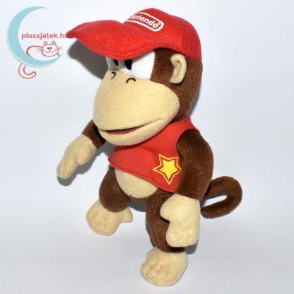 Donkey Kong plüss majom (Super Mario) balról