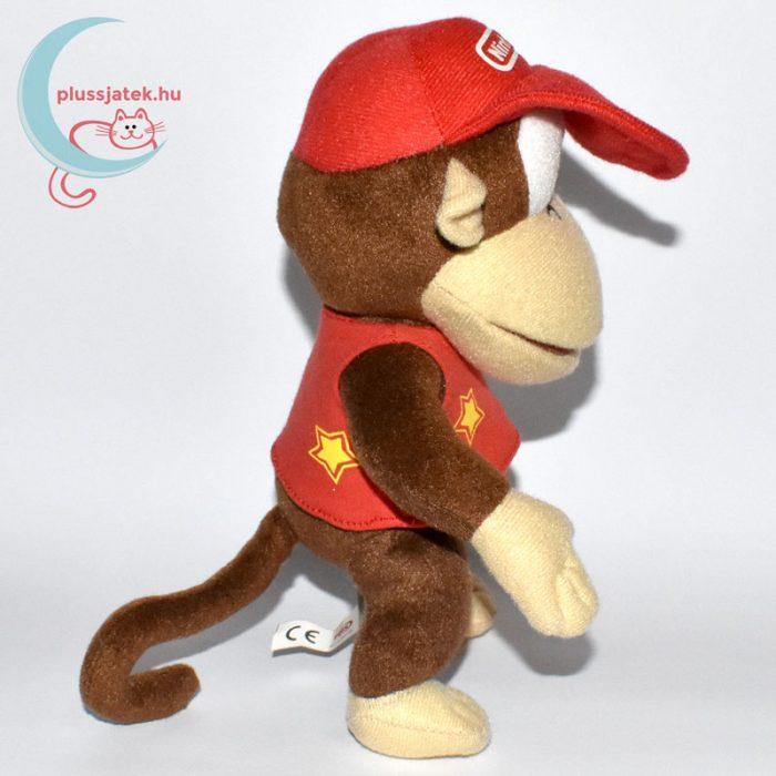 Donkey Kong plüss majom (Super Mario) oldalról