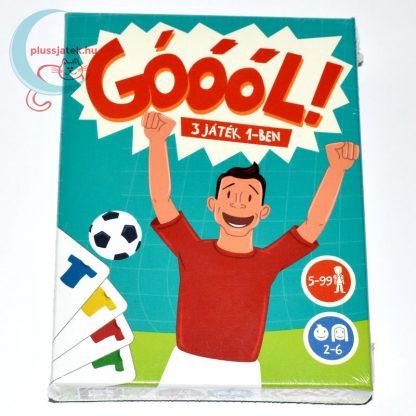 Góóól! focis kártyajáték (3 játék 1-ben)
