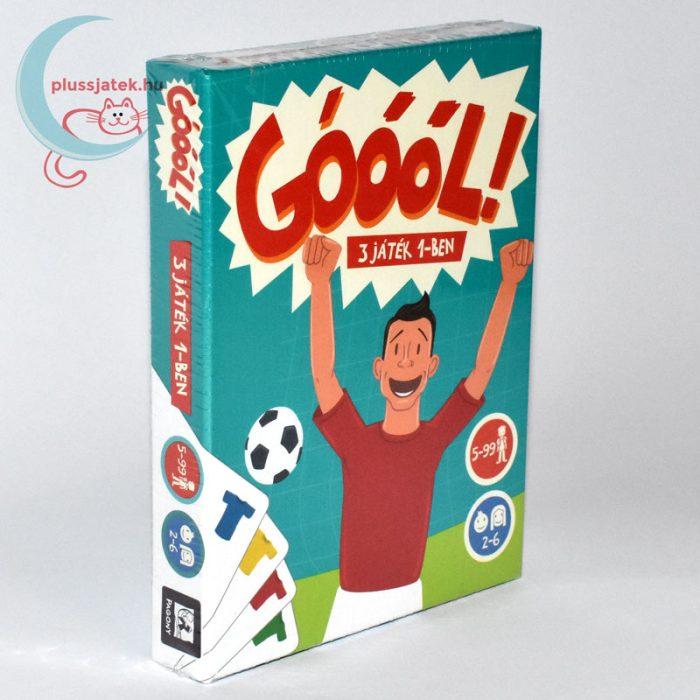 Góóól! focis kártyajáték (3 játék 1-ben) jobbról