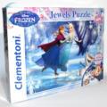 Jégvarázs ékköves 104 darabos puzzle (Frozen Clementoni kirakó) jobbról