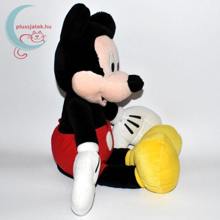 Óriás Mickey (Miki) egér plüss (45 cm) oldalról