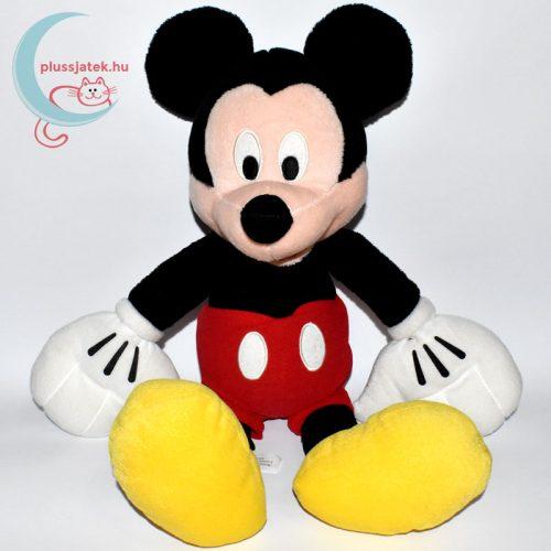 Óriás Mickey (Miki) egér plüss (45 cm) szemből