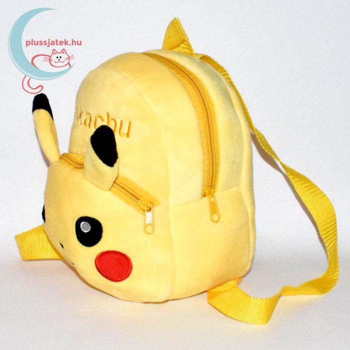 Pikachu plüss hátizsák (Pokémon) balról