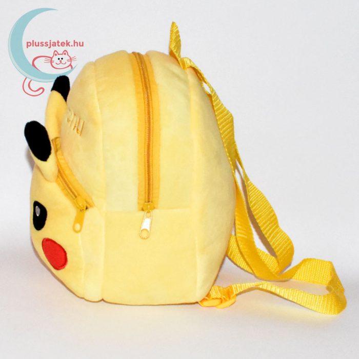 Pikachu plüss hátizsák (Pokémon) oldalról
