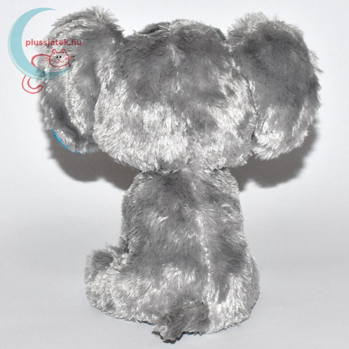 TY nagyszemű plüss elefánt (Beanie Boos) hátulról