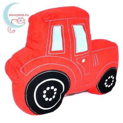 TU piros traktor plüss kispárna jobbról