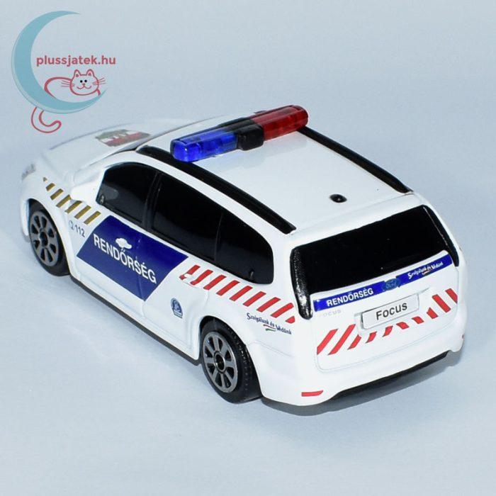 Bburago rendőrautó, járőrkocsi (Ford Focus) balról