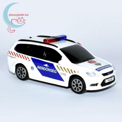 Bburago rendőrautó, járőrkocsi (Ford Focus) jobbról