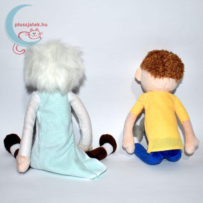 Rick és Morty plüss hátulról