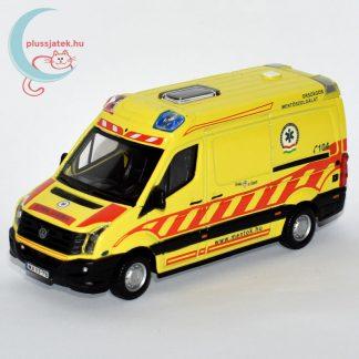 Bburago magyar mentőautó makett esetkocsi (Volkswagen Crafter)