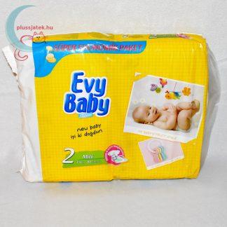 Evy Baby (2-es, mini), 3-6 kg, 80 db-os pelenka