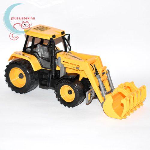 Traktor játék homlokrakodóval jobbról