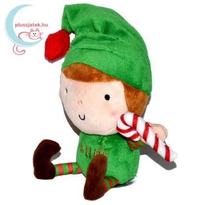 Elfie, a plüss karácsonyi manó balról