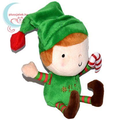Elfie, a plüss karácsonyi manó jobbról