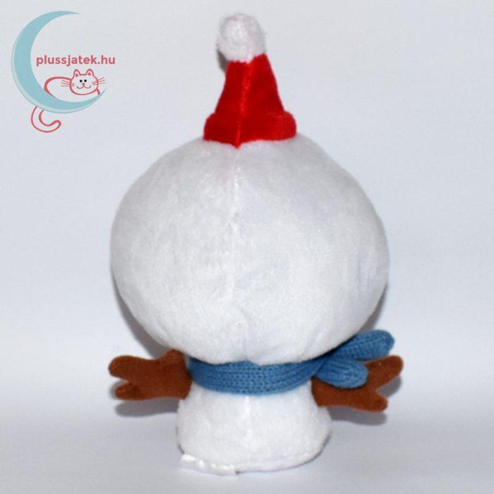 Karácsonyi plüss hóember hátulról