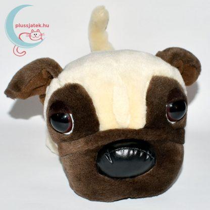 Nagyfejű plüss mopsz kutya (The Dog sorozat) szemből