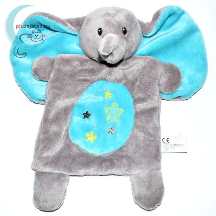 Nicotoy csillagos elefánt szundikendő - kék